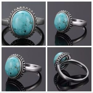 Jewelry - Handmade Southwestern Silver Turquoise Ring